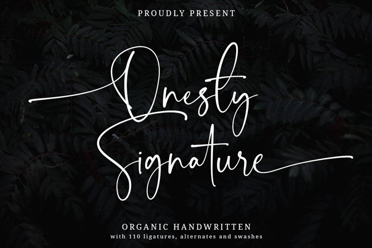 Onesty Signature example image 1