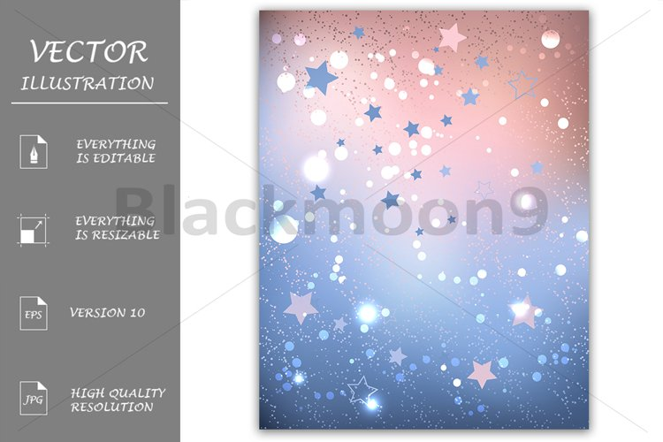 Rose Quartz and Serenity Background example image 1