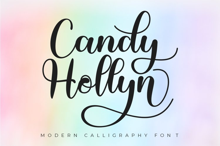Candy Hollyn - Modern Calligraphy example image 1
