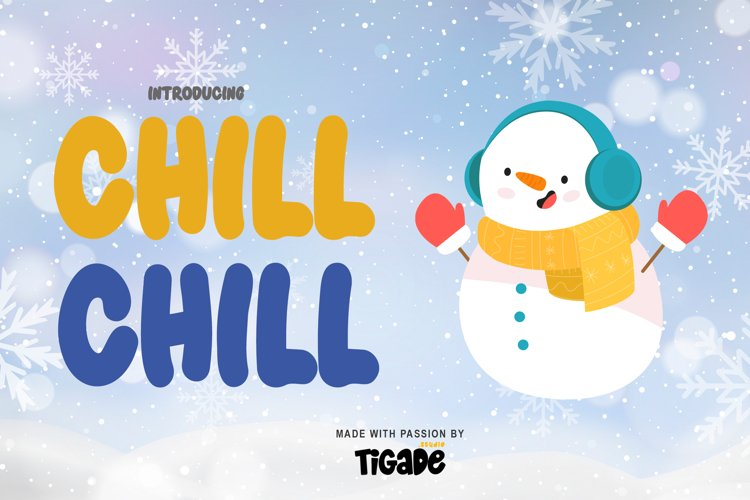 Chill Chill Webfont example image 1