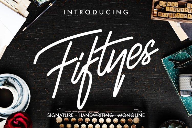 Fiftyes Signature example image 1