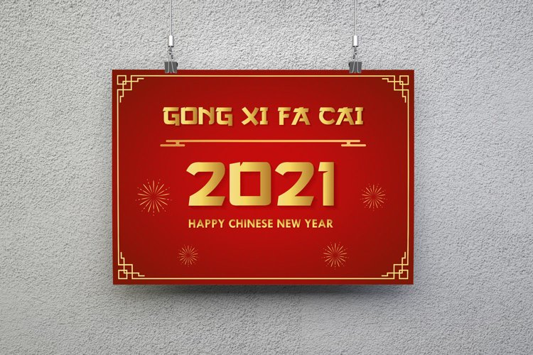 Happy chinese New Year 2021 and GONG XI FA CAI