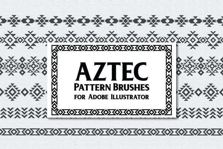 Aztec Pattern Brushes example image 1