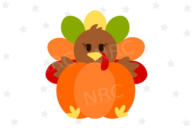 Turkey Pumpkin SVG File