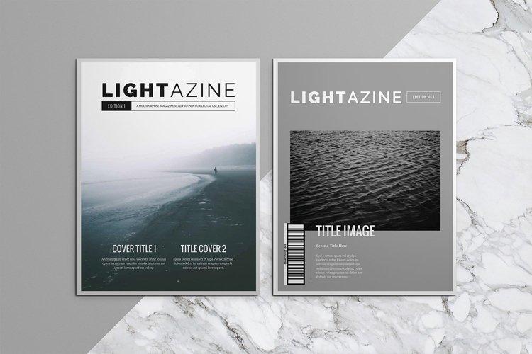 Lightazine Indesign Template example image 1