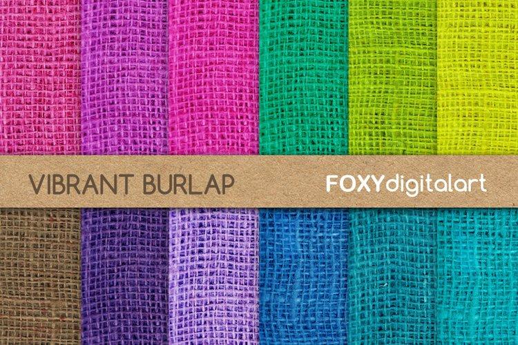 Digital Paper Burlap Scrapbook Jute Texture Rustic Wedding example image 1