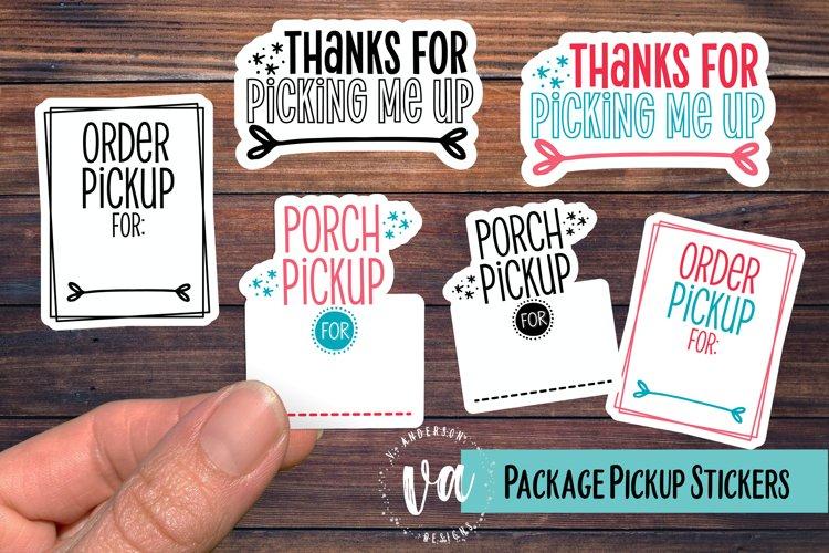 Packaging Pickup Sticker Bundle PNGs example image 1
