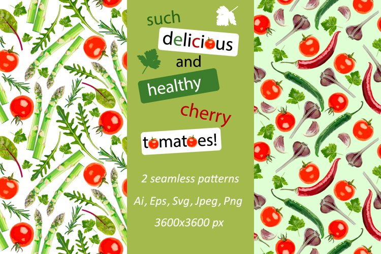 Such delicious and healthy cherry tomatoes