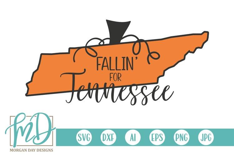 Halloween - Pumpkin State - Fallin For Tennessee SVG