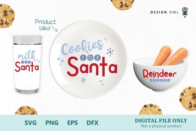 Cookies for Santa - Christmas SVG bundle example image 1