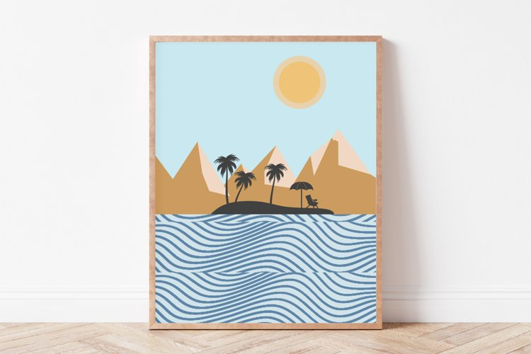 Summer Wall Art, Beach Wall Art, Summer Prints, Art Print
