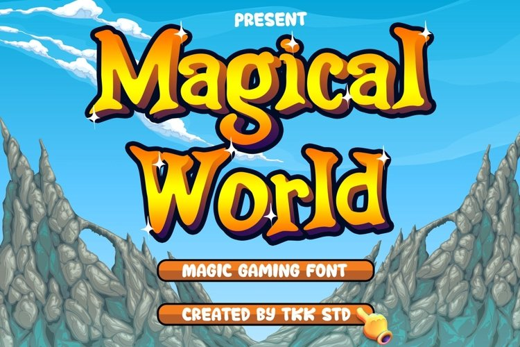 Magical World - Fancy Font example image 1