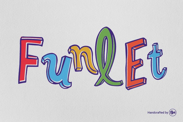 Funlet Typeface