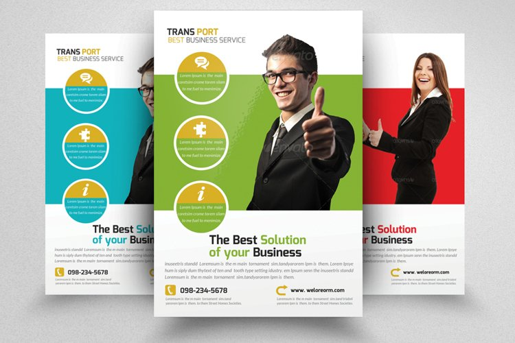 Business Solution Flyer example image 1