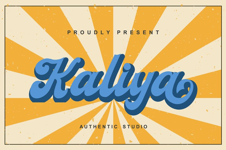 Kaliya Font example image 1