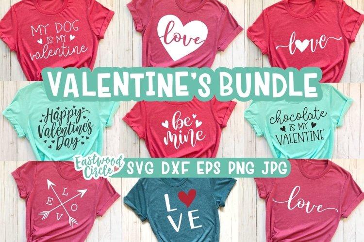 Valentine SVG Cut File Bundle for Crafters