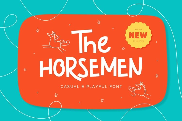 The Horsemen - Casual & Playful Font example image 1
