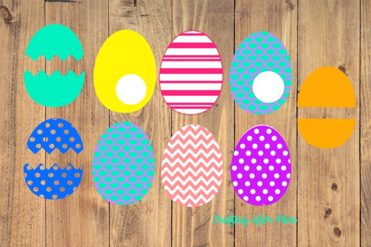 Easter Egg Svg, Easter Egg Bundle, Happy Easter, Easter Svg example image 1