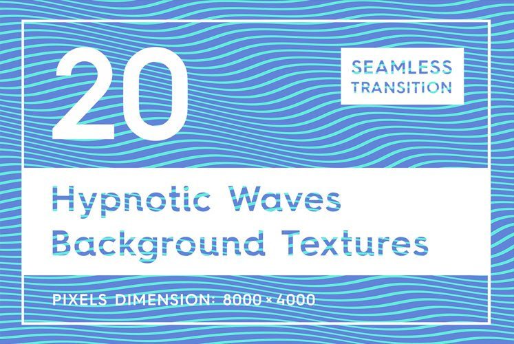 20 Hypnotic Wave Backgrounds example image 1