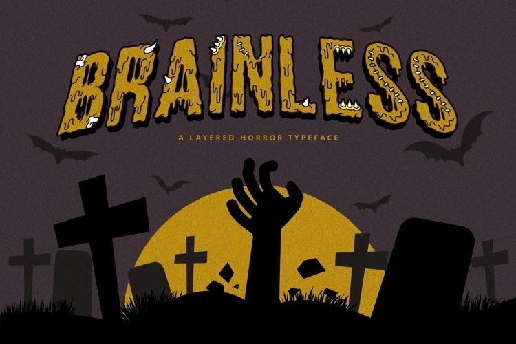 Web Font Brainless example image 1