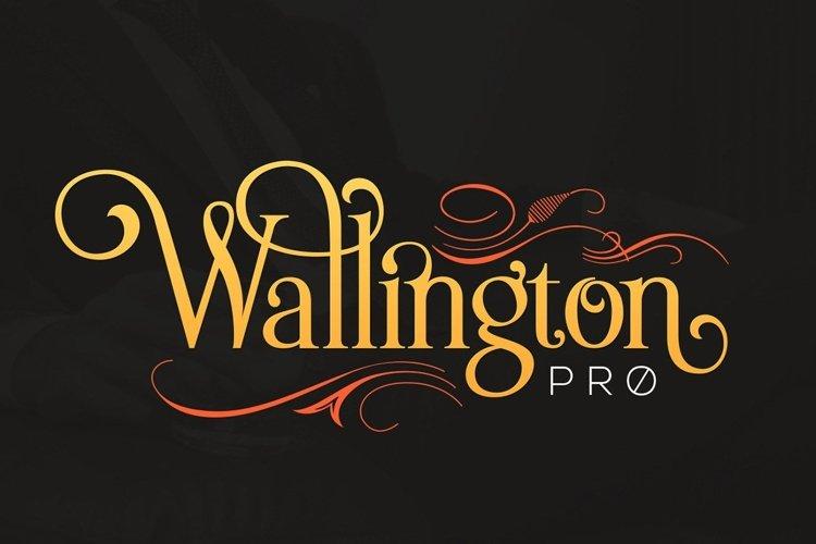 Wallington Pro example image 1