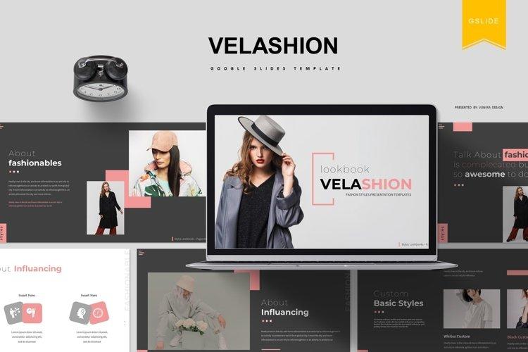 Velashion | Google Slides Template example image 1