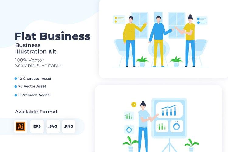 Business Illustration Kit example image 1