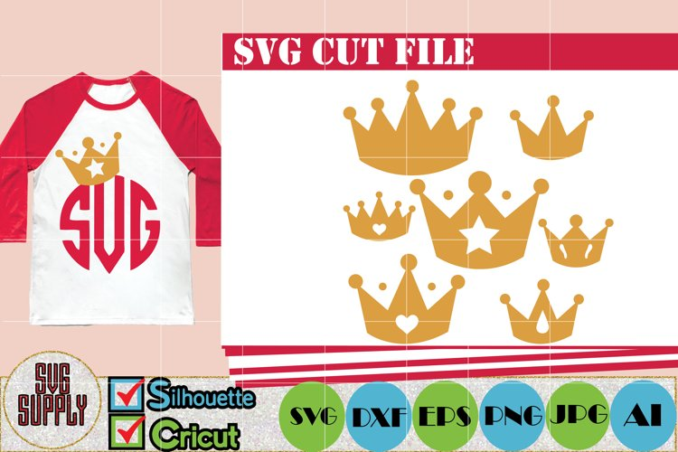 Crown SVG Cut File