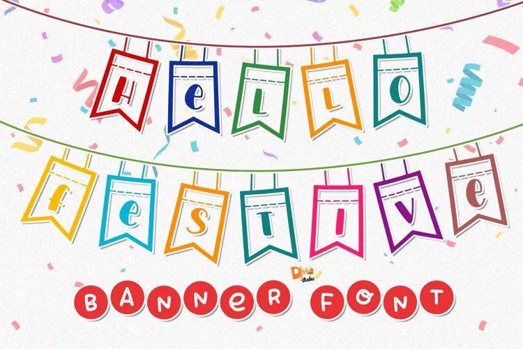 Hello Festive - Banner Font example image 1