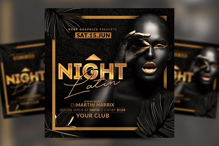 Latin Night Flyer example image 1