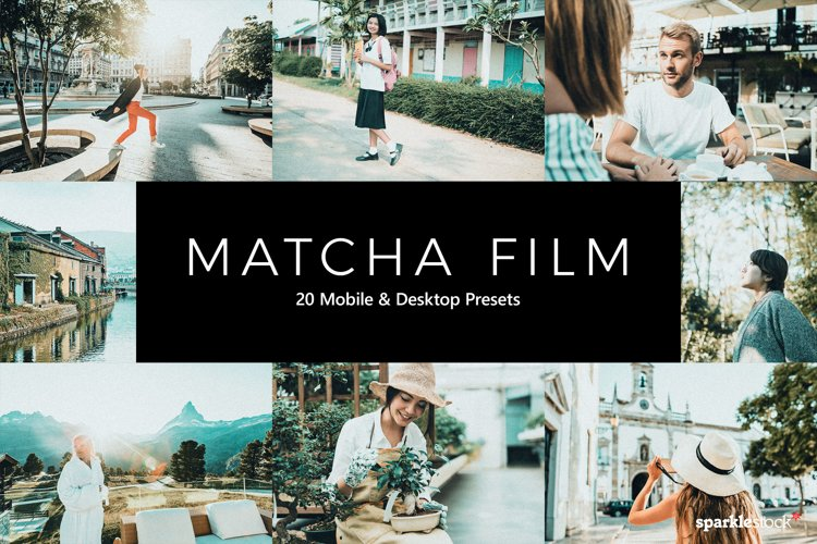 20 Matcha Film Lightroom Presets & LUTs example image 1
