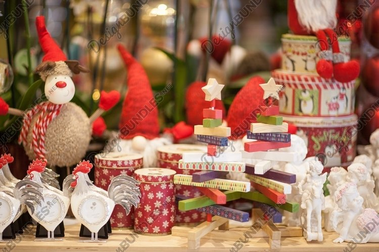 Collection of Christmas toys and decorations example image 1