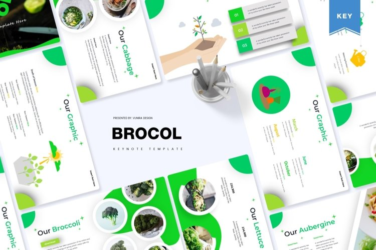 Brocol | Powerpoint, Keynote, Google Slides Template example image 1