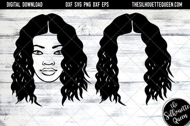 Afro Hair - Kinky Curly Natural Black Loose Medium example image 1