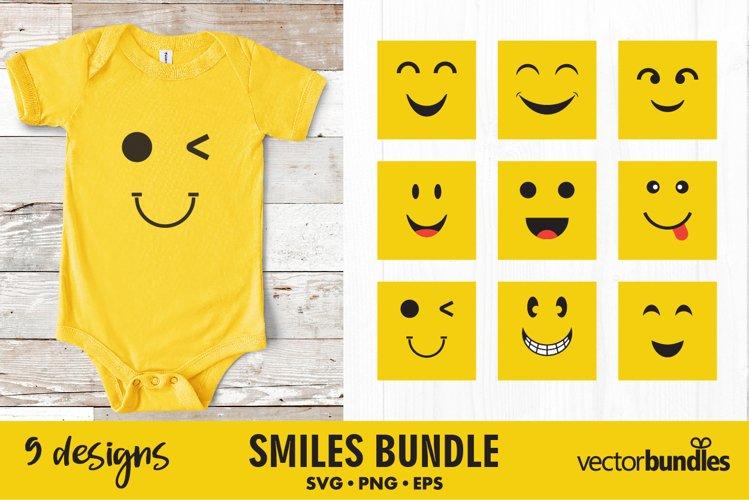 Smile svg bundle