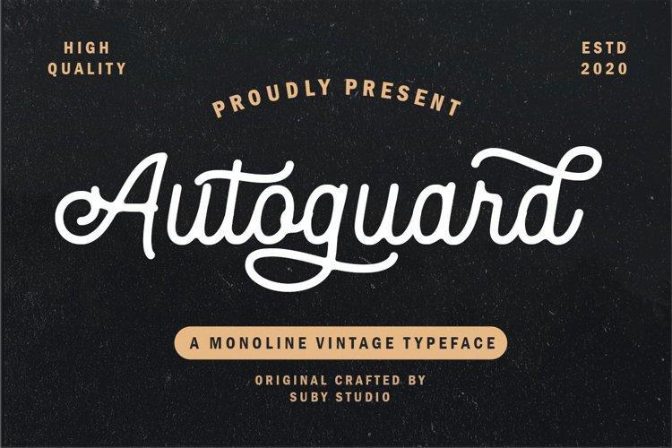 Autoguard Monoline Script example image 1