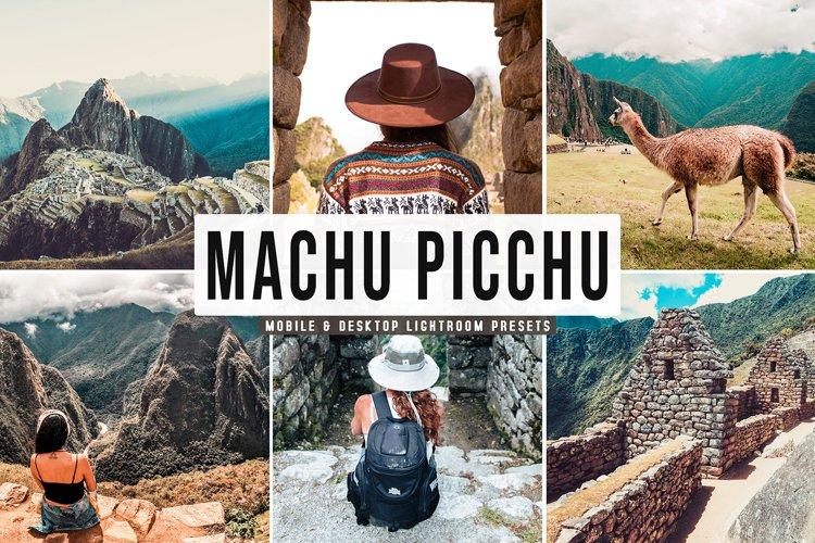 Machu Picchu Mobile & Desktop Lightroom Presets example image 1