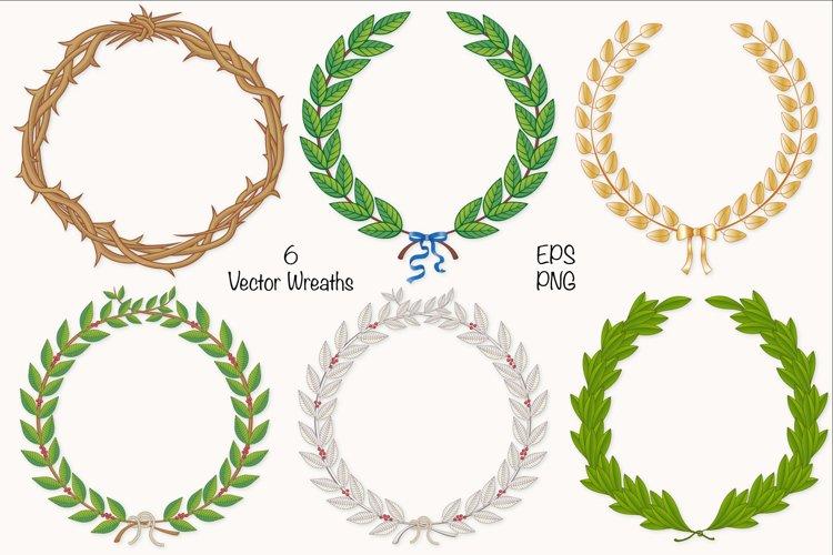 Wreath & Laurel COllection