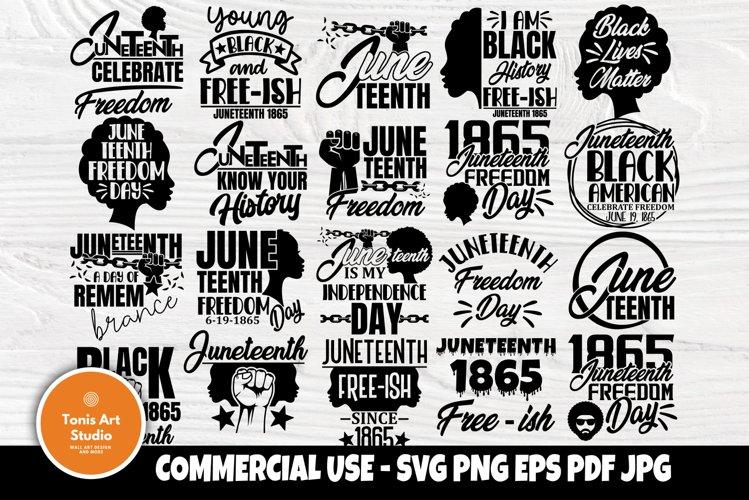 Black Lives Matter SVG Bundle, Juneteenth Svg, Black History