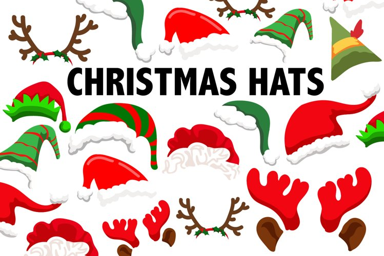 Christmas Hat Clipart example image 1