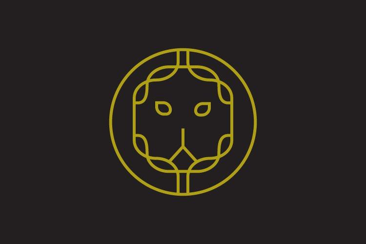 Luxury lion symbol logo example image 1
