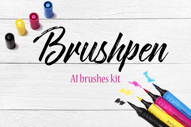 Brushpen pack for AI