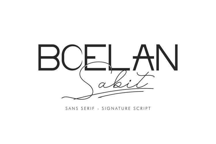 boelan sabit example image 1
