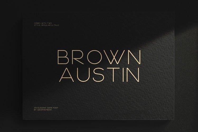 Brown Austin example image 1