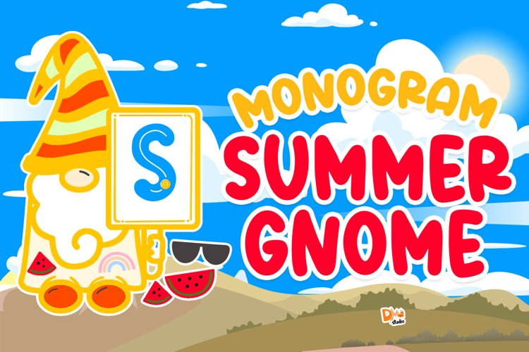 Monogram Summer Gnome example image 1