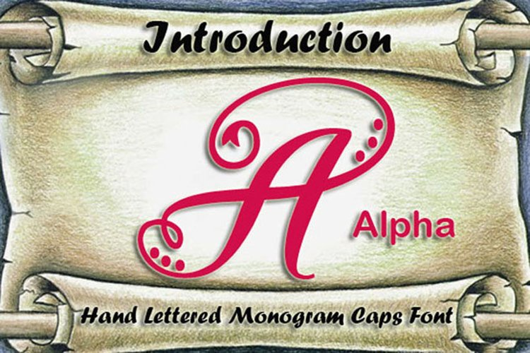 Alpha Monogram example image 1