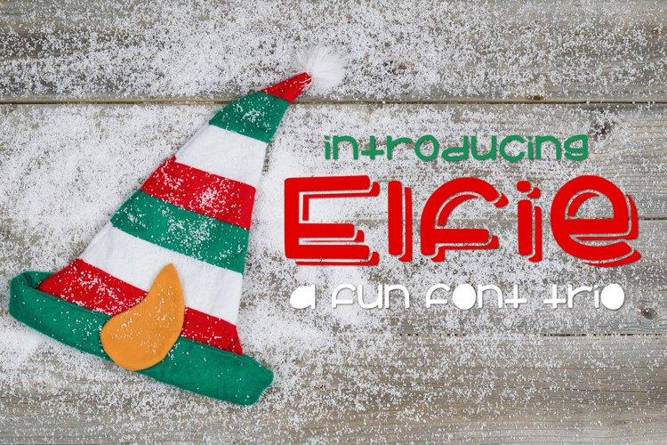 Web Font Elfie example image 1