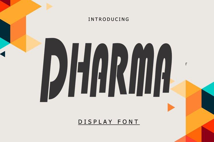 Dharma example
