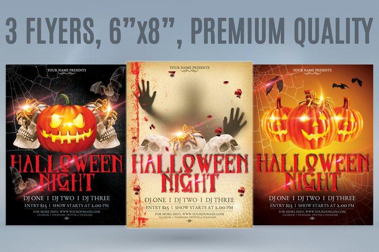 Halloween Flyer Bundle example image 1