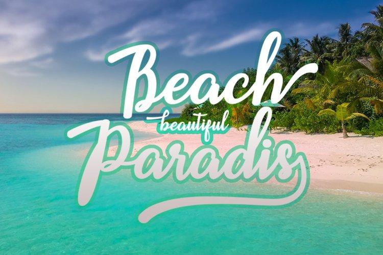 Beach example 1